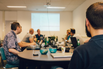 eonics open hack night sfeerimpressie