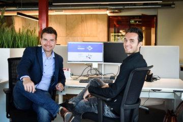 Frank en Tim van P-Services