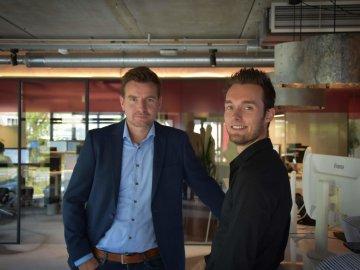 Frank van der Lubbe en Tim van Mourik