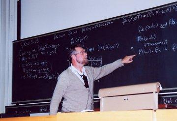Edsger Dijkstra, 1994 in Zurich